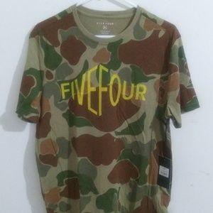 Five Four Camo T -Shirt Size M